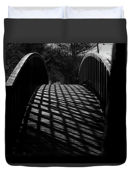 A Bridge Not Too Far Duvet Cover