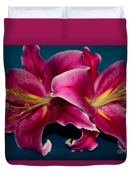 A Bunch Of Beauty Duvet Cover by Roberta Byram