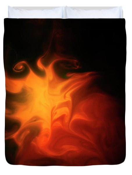 A Burning Passion Duvet Cover