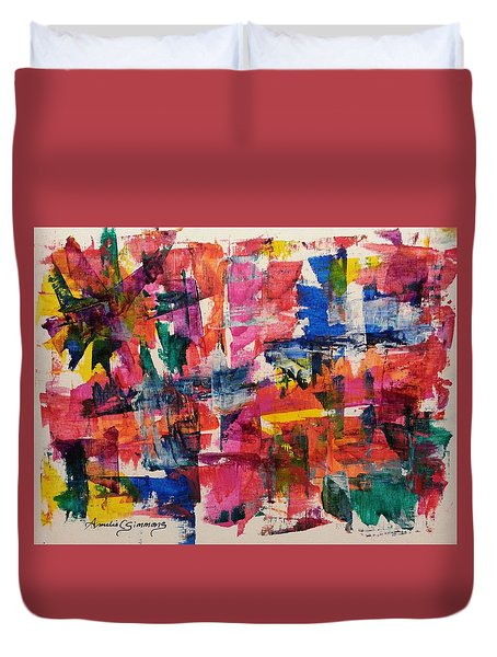 A Busy Life Duvet Cover