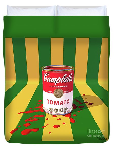 A Can Of Tomato Soup Duvet Cover
