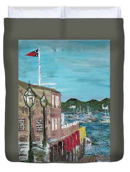 A Cape Cod Dream Duvet Cover