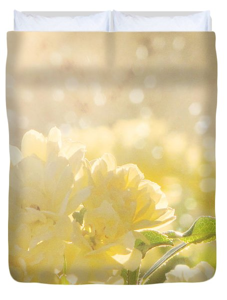 A Chance Of Showers Duvet Cover