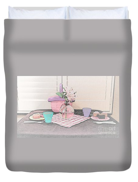 A Childs' Picnic Duvet Cover