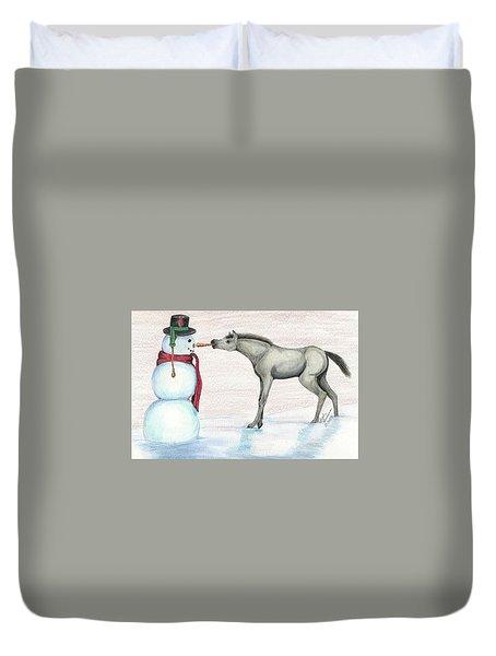 A Christmas Carrot Duvet Cover