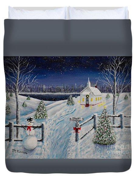A Christmas Eve Duvet Cover