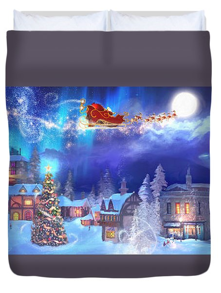A Christmas Wish Duvet Cover