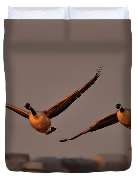 A Cinematic Moment Duvet Cover
