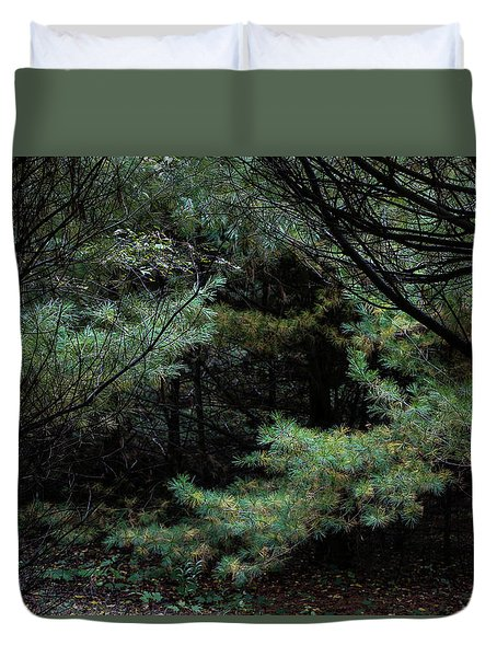 A Clearing In The Wild Duvet Cover