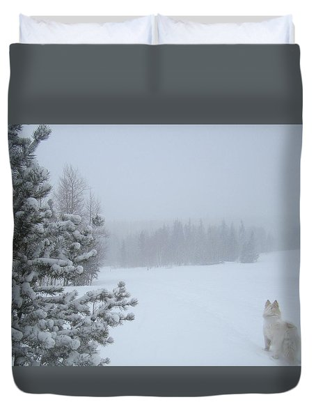 Love The Small Things In Life Duvet Cover by Fiona Kennard
