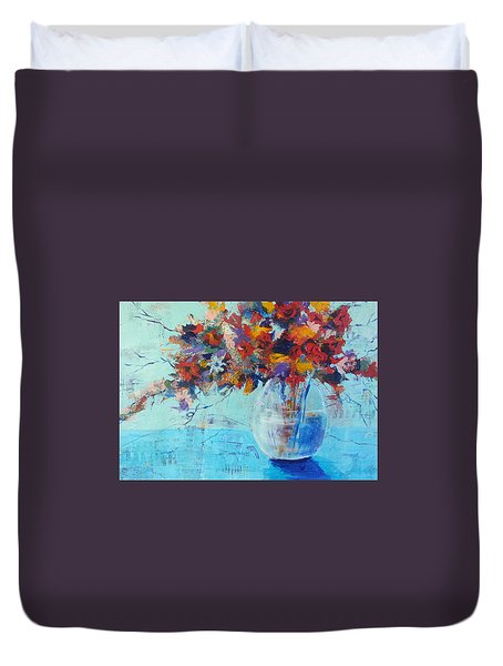 A Cool Spot Duvet Cover by Becky Chappell