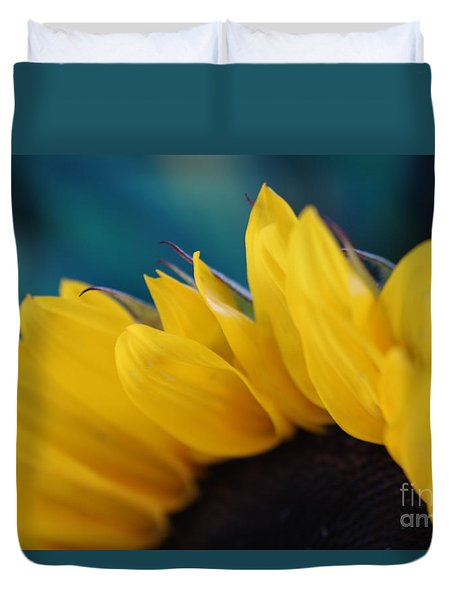 A Cool Sunflower Duvet Cover