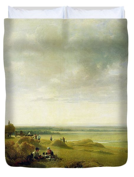 A Corn Field Duvet Cover