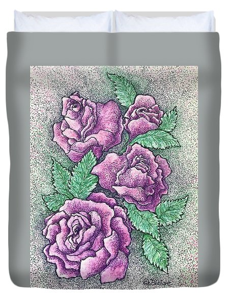 A Corsage For Millie Duvet Cover