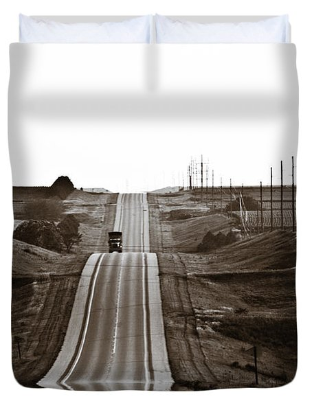 A Country Mile 1 Duvet Cover by Marilyn Hunt