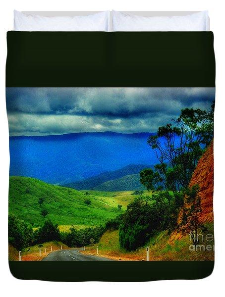 A Country Mile Duvet Cover by Blair Stuart