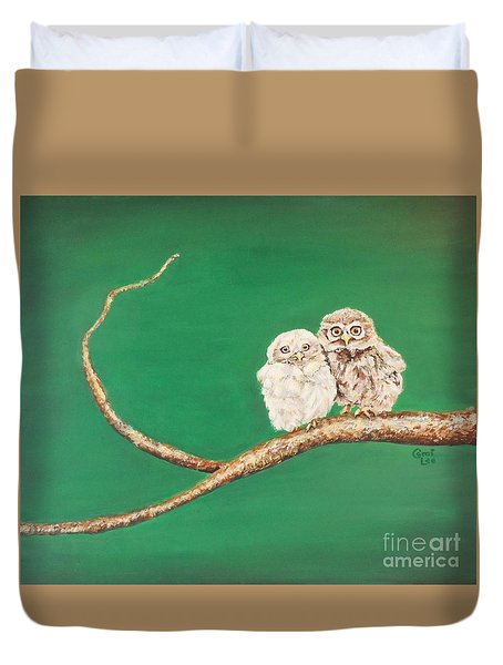 A Couple Of Owls Duvet Cover