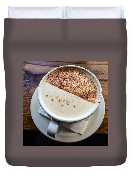 A Cup Of Chai Duvet Cover