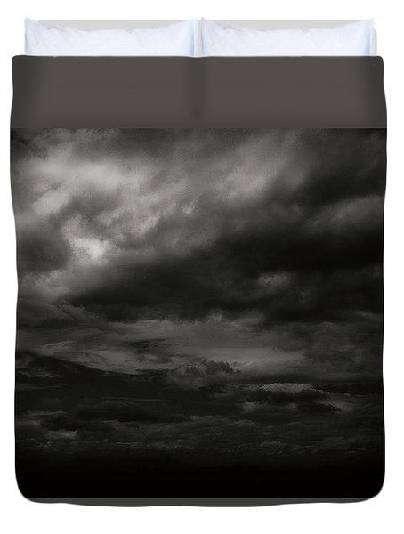 A Dark Moody Storm Duvet Cover