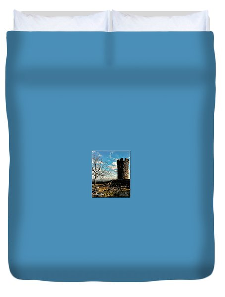 A Day At  Craigs  Castle   Duvet Cover