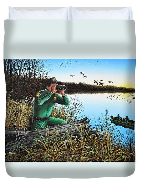 A Day At The Office - Icoo Duvet Cover