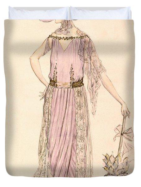A Day Dress Duvet Cover