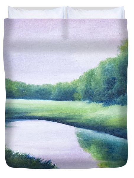 A Day In The Life 1 Duvet Cover by James Christopher Hill