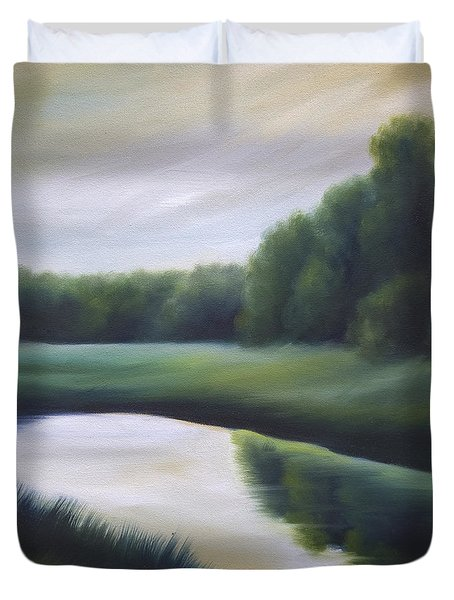 A Day In The Life 3 Duvet Cover by James Christopher Hill