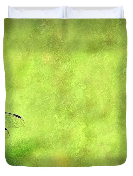 A Day In The Swamp Duvet Cover