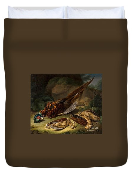 A Dead Pheasant Duvet Cover by MotionAge Designs