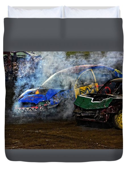 A Demo Fire Duvet Cover