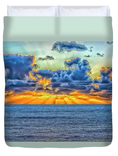 A Different Sunset Duvet Cover