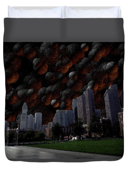 A Dimension Of Boston Rarely Seen Duvet Cover