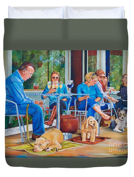 A Dog's Life Duvet Cover