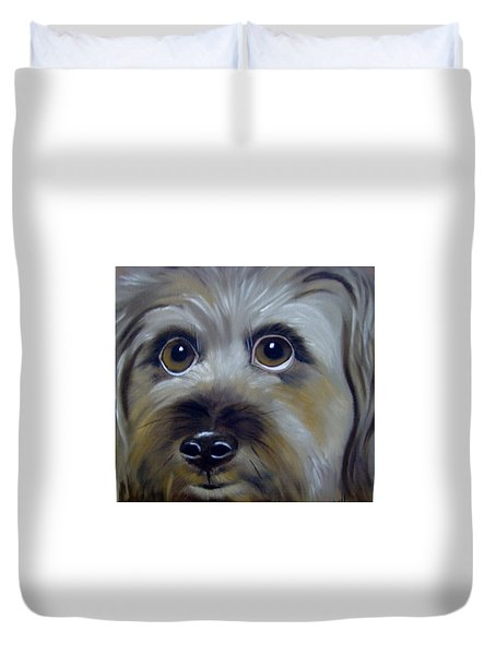 A Dog's Love Duvet Cover