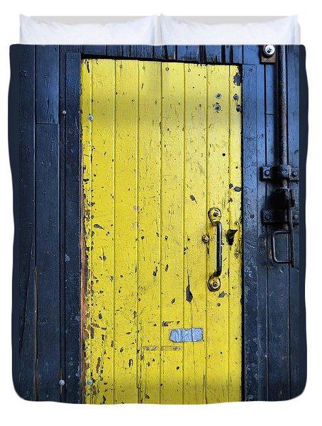 A Door Within A Door Duvet Cover
