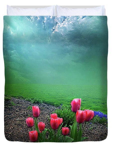 A Dream For You Duvet Cover