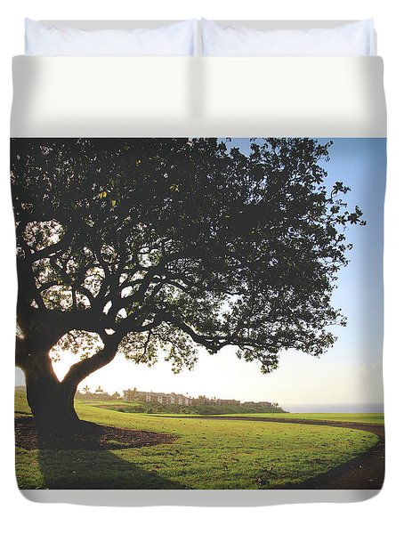 Duvet Cover featuring the photograph A Dreamy Dream by Laurie Search