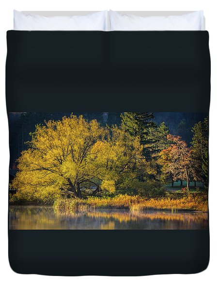 A Fall Day  Duvet Cover