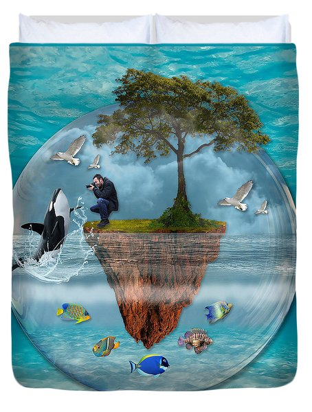 A Fantastical Journey Duvet Cover