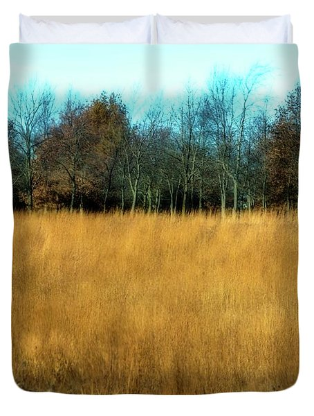 A Field Of Browns Duvet Cover