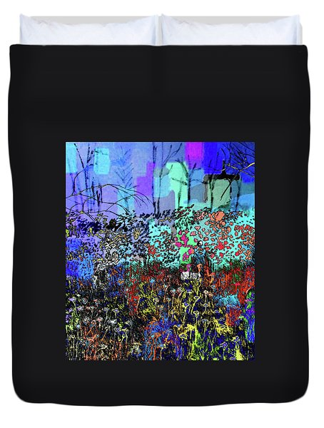 A Field Of Flowers Duvet Cover