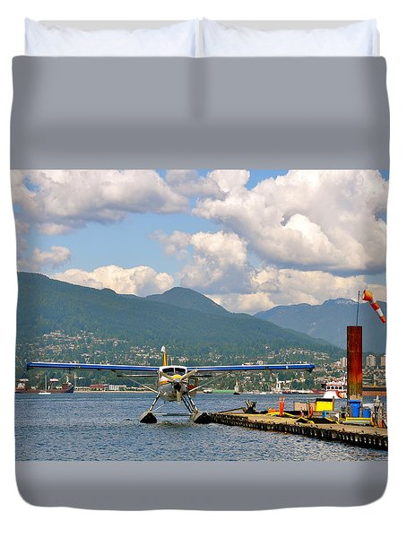 A Float Plane Duvet Cover