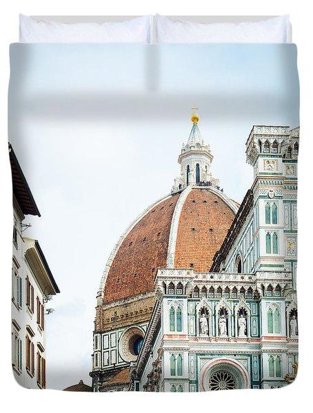 A Florence Duomo Peak Duvet Cover