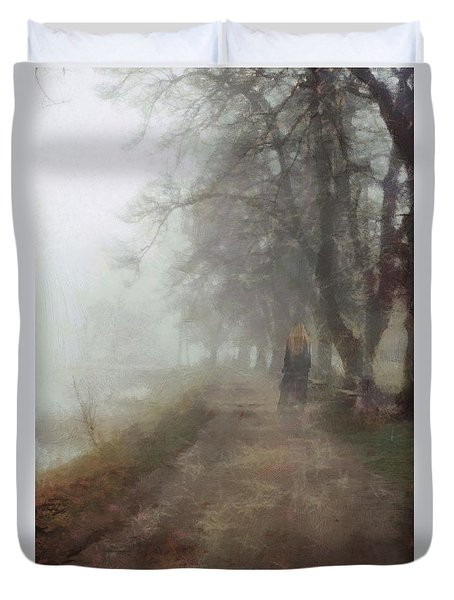 A Foggy Day Duvet Cover