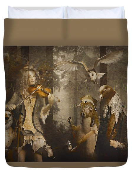 A Forest Overture Duvet Cover by Rosemary Smith