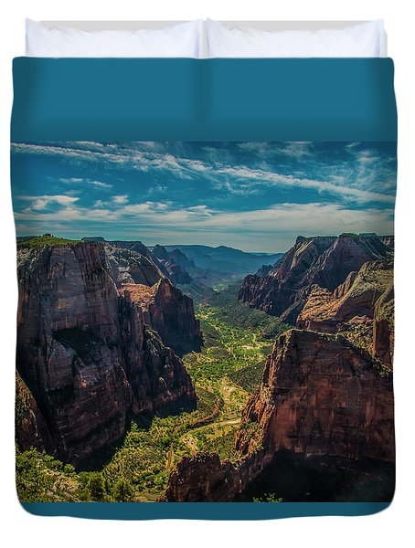 A Forever View Duvet Cover