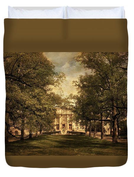 A Formal Passage Duvet Cover by Jessica Jenney