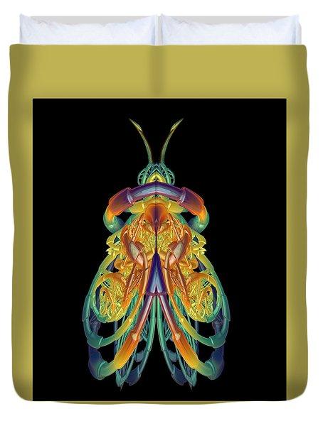 A Fractal Bug Duvet Cover