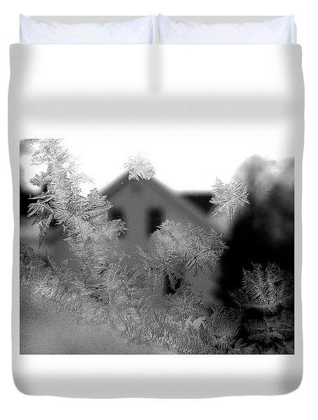 A Frosty View Duvet Cover